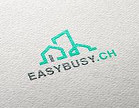 Easybusy.ch - logo design