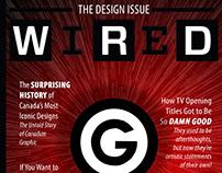 Wired Cover Design
