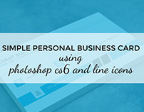simple business card...