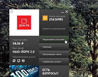 Desktop Applicaton for Dom.ru