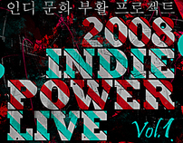 2008 Indie Power Live - POSTER