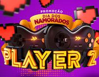 Promoção Dia dos Namorados - Player 2 (KaBuM!)