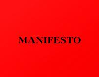 MANIFESTO: Short Film