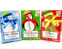 Christmas Cocoa Characters - Too Good Gourmet
