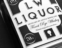 Little White Liquor (Whiskey Packaging)