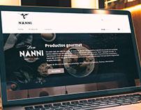 NANNI eCommerce site