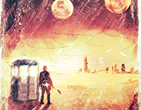 Doctor Who Series 10 poster