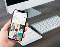 Free Hand Holding iPhone X Mockup PSD