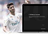 Marco Asensio - Website Redesign Concept
