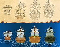 Pirates - game design