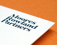 Moores Rowland Partners Branding