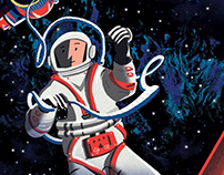 Space Race - for Nobrow Press