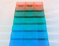 2-D Presentations of 3-D Representions of 4-D Cubes