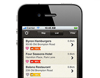 iPhone Application Design