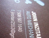 John Inzitari Business Cards