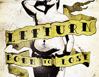 "Lefturn - ""Born to Lose"" Album Illustration and Layout"
