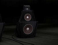Hi-Fi audio concept