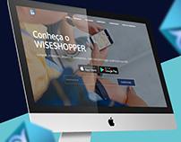 Wiseshopper: Desenvolvimento de sites e logo