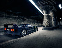 Ferrari F40 for ramp magazine