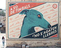 """Greyhound"" Wall"