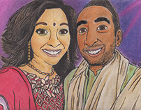 Wedding Caricature Gifts