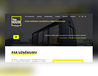 TheHouse - landing page