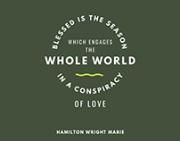 Blessed is the season... by Hamilton Wright Mabie