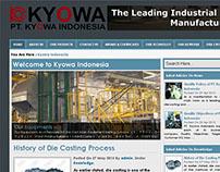 Corporate Industrial Website of Kyowa Indonesia