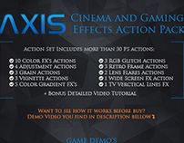 Cinema and Game FX Actions for Photoshop