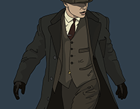 """PEAKY BLINDERS"" Illustrations"