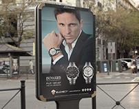 Cartel reloj oficial Elche C.F.