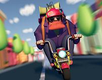 Biker - 3D