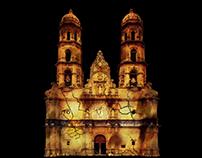 Videomapping Basílica de Zapopan