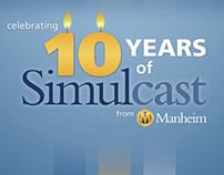 10 Years of Simulcast by Manheim