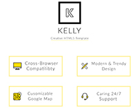 Kelly - Creative and Responsive HTML5 Theme 2018
