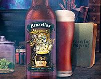 Rótulo e Anúncio - Cerveja Bruxellas
