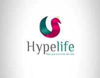 Logo Hypelife Cliente: Sherin Rashid