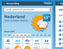 Weer Online pitch 2009