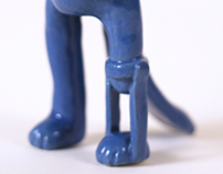 The Paw Maker Ceramic in Color