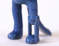 The Paw Maker Ceramic in Color