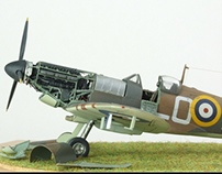 Supermarine Spitfire Mk1, LO-B, 602Sqn, 1940