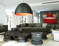Apartment Paris - 3D Interior -
