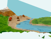LowPoly landscapes