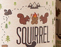 Squirrel Peanut Butter Packaging