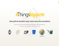 Eni Things Happen website