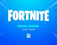 Fortnite - UI/UX Visual Design