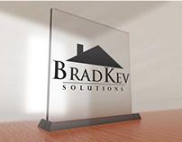 BradKev Solutions Logo Design