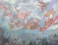 The Fall of the Greek Gods of Olympus.