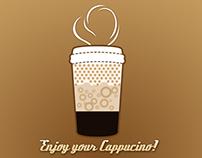 Unique Coffee Vending Machine Interface Design