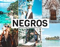 Free Negros Mobile & Desktop Lightroom Preset